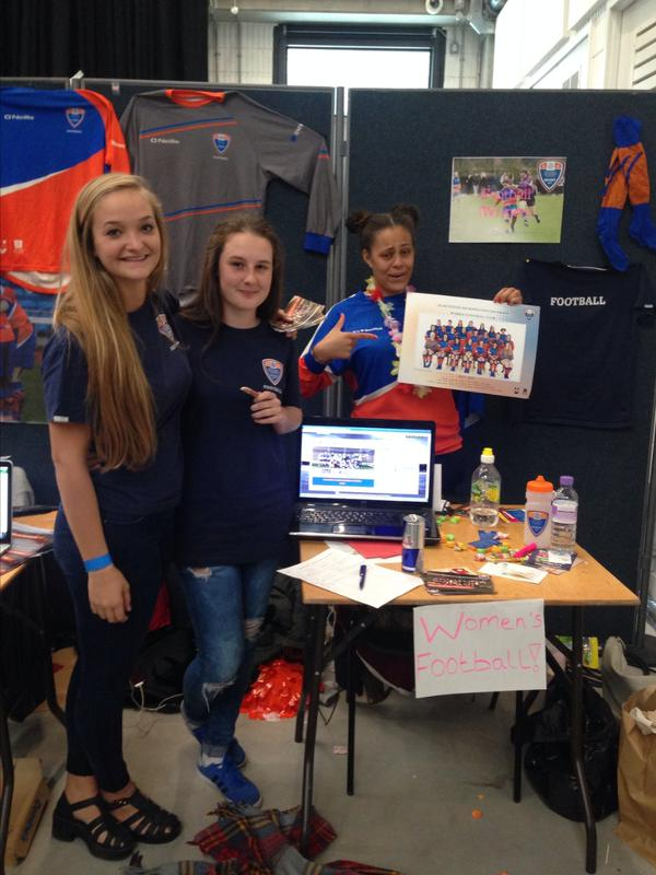 Members of the club at this year's Freshers' Fair!