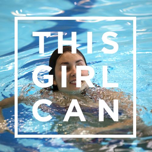 ThisGirlCan swimming