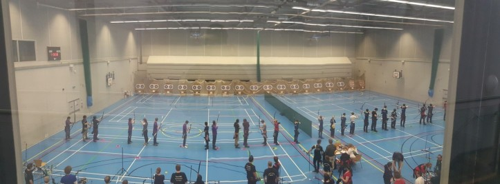 Lining up archers