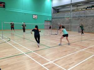 Social and competitive teams took to the court